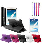 Leather Case Cover Stand for Samsung Galaxy Note 8 N5100 + Screen Protector