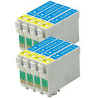 8 CYAN NON-OEM INK CARTRIDGES FOR EPSON Stylus WorkFore Expression Home PRINTER