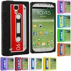 For Samsung Galaxy S4 SIV i9500 Color Silicone Cassette Tape Soft Gel Case Cover