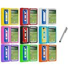 For Samsung Galaxy S4 SIV i9500 Cassette Tape Soft Gel Case Cover+Metal Pen