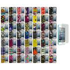 For iPod Touch 5th Gen 5G Design Hard Rubberized Case Cover+Screen Protector