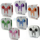 Big Save! Mic Function Stereo EarPods Earphone Headset For iPhone 5 5G 4 4S BF1U