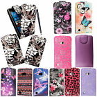 For Nokia lumia 720 Stylish Printed Leather Magnetic Flip Skin Case Cover+Stylus