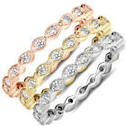 1/3CT Stackable Diamond Ring 14K White Yellow or Rose Gold