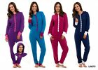 BNWT LADIES HOODED ONESIE PYJAMAS BLUE/NAVY/PURPLE/PINK SIZES 10-18