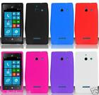 Huawei W1 H883G Faceplate Phone Cover Case SILICONE Skin + SCREEN PROTECTOR