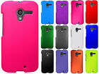 For Motorola Moto X XT1058 Rubberized HARD Protector Case Snap On Phone Cover