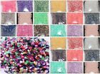 500pcs Candy Color Half Round Acrylic Crystal Bead Flatback For Craft  5mm