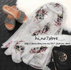 NWT Alexander Mcqueen MCQ Dragonfly skulls Grey Black Pink White Nude Silk scarf