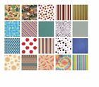 Printed Patterned Tissue Wrapping Paper luxury 5 sheets - 20 designs you choose