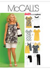 McCall's 5640 Sewing Pattern to MAKE Plus Size Top, Dress, Trousers & Shorts
