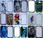 Huawei Ascend Y H866C M866 Faceplate Phone Cover DESIGN Case + SCREEN PROTECTOR