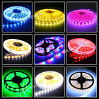5M 300 LED Strip Light 3528/5050 SMD/RGB Ribbon Tape Roll Waterproof IP65 12V UK