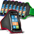 SPORTS ARMBAND STRAP CASE AND PROTECTIVE POUCH FOR NOKIA LUMIA 925 MOBILE PHONE