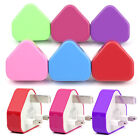 COLOUR USB Mains Charger Plug For iPhone 5S 5C 5 4S 4 3GS 3G iPod touch Nano