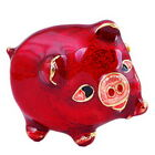 Monthers Gifts Brooch Pins Rhinestone Crystal Enamel Lovely Pig Animal Jewelry