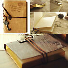 Retro Classic Vintage Leather String Key Blank Notebook Diary Journal Sketchbook