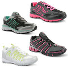 New Ladies Girls Lace Up Trainers Sports Running Casual Gym Walking Shoes UK 3-8