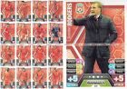 CHOOSE 13/14 TEAM BASE SETS MATCH ATTAX 2013 2014 ALL 16 BASE CARDS + MANAGER 17