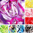 Bags Of Mixed Ribbon Off Cuts, 10 x 1Metres, Assorted Sizes And Colours