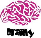 Brainy Removable Wall Art Decal