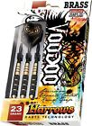 Harrows Darts Voodoo Steeltip Darts | All Weights 19-27g + Hard Darts Case