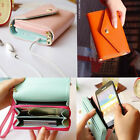 Womens Card Clutch Bag Wallet Case Purse For Galaxy S2 S3 Iphone 4S 5C 5S New Q