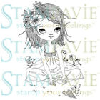 ANNE CRESCI-Stampavie Clear Acrylic Art Craft Stamp-Stamping-Cardmaking-Cards
