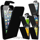 BLACK PU LEATHER FLIP CASE COVER & LCD PROTECTOR FOR VARIOUS MOBILE PHONES