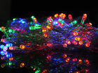 4x0.8M 128LED Outdoor Christmas Wedding String Net Light Fairy Curtain Lights