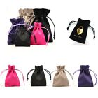 Luxury Square Suede Jewellery Gift Pouches, Various Sizes & Colours