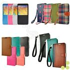caseen Samsung Galaxy Note 3 Note 4 Luxury Leather Card Wallet Flip Case Cover