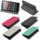 New Luxury PU Leather Hard Back Flip Stand Case Cover for LG Google Nexus 5