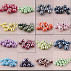 Wholesale Mix Ceramics Porcelain  Big Hole European Charm Beads Fit Bracelet