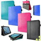 "Kozmicc Universal Tablet Case Cover 7"" - 8.3"" Inch [Slim Adjustable Stand Folio]"
