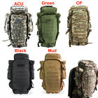 Military USMC Army Tactical Molle Hiking Hunting Camping Rifle Backpack Bags