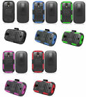 Holster + Hybrid Armor Cover Case for Samsung Galaxy Light T399 SGH-T399 Phone