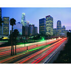 'Hollywood Freeway, Los Angeles, California' Photography Canvas Print