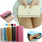 Envelope PU Leather Wallet Purse Case For iPhone 6 5S Samsung Galaxy S6, S6 Edge