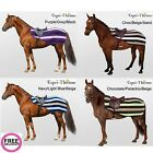 Equi Theme Stripe Fleece Exercise Sheet *5 Colours!* **FREE UK DELIVERY**