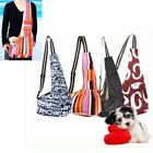 Cute Pet Dog Cat Puppy Strap Sling Single-Shoulder Bag Carrier Holder Tote S M L