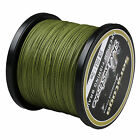 Top Quality 8 Strands Braided Dyneema Fishing Line Saratoga 300M Army Green