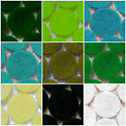 -:- Felt Die-Cut Circles -:- Crafts, Cardmaking etc - GREENS - Choose the sizes