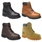 MENS DICKIES CLEVELAND SAFETY WORK BOOT SIZE UK 3 - 14 BLACK BROWN HONEY FA23200