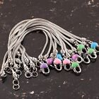 Lot Fashion Enamel Lobster Clasp 18KGP 8'' European Bracelet Fit Charm Beads