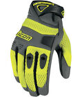 Icon Anthem Adult Gloves Hi-Viz Yellow SM-XXXL