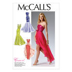 McCall's 6838 Versatile Sewing Pattern to MAKE Evening  Dresses w/ Boned Bodices