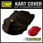 SALE! KK03200 OMP NYLON KART COVER WATERPROOF & TEAR RESISTANT BLACK or RED