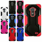 For LG G Flex HYBRID IMPACT Rubber Hard Protector Phone Case Cover Accessory
