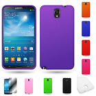 For Samsung Galaxy Note 3 Silicone Rubber Soft Skin Cover Case
